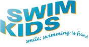 SwimKids | Smile, swimming is fun! Logo